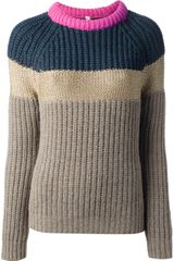 Antonio Marras Ribbed Sweater - Lyst