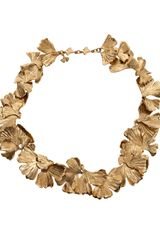 Aurelie Bidermann Feather Necklace - Lyst