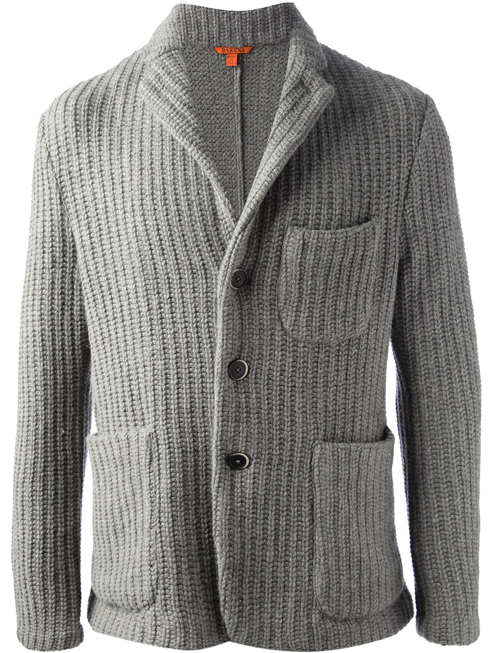 Barena Knitted Blazer In Gray For Men Lyst