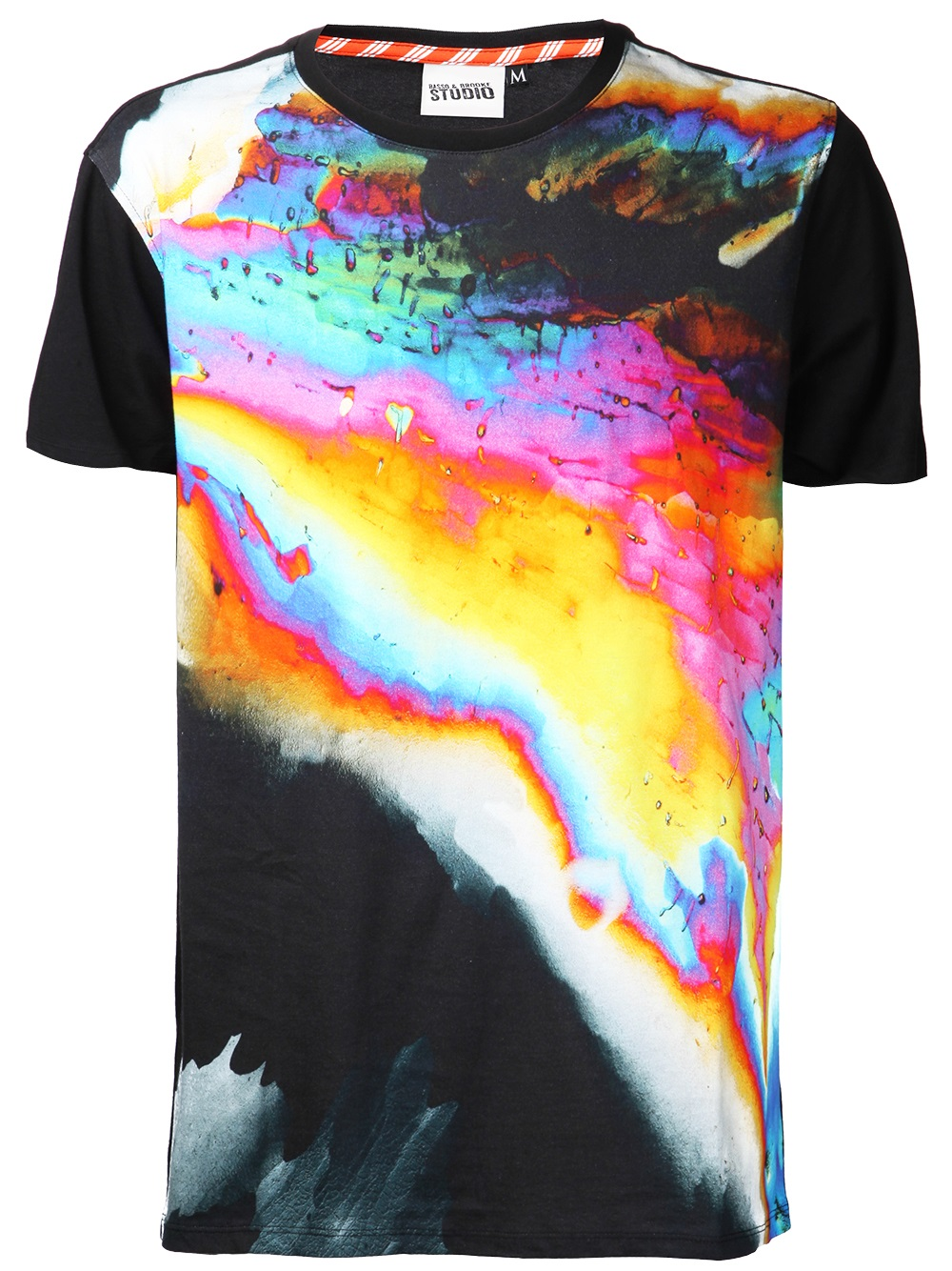 Basso Amp Brooke Power Rainbow T Shirt In Black For Men Lyst