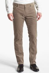 Boss Orange Barcelona Straight Leg Corduroy Pants - Lyst