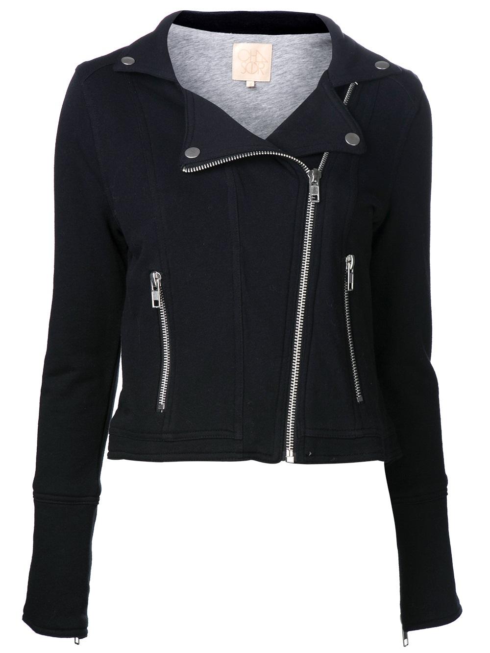 Lyst - Chaser Moto Jacket in Black