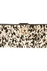 Class Roberto Cavalli Animal Print Clutch - Lyst