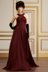 Collection Apparel Silk Georgette Adelaide Gown - Lyst