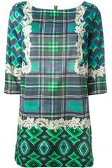 Emma Cook Bargello Print Shift Dress - Lyst