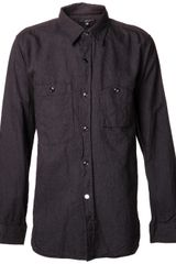 Engineered Garments Button Down Shirt - Lyst