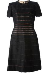 Fendi Striped Dress - Lyst