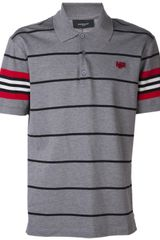Givenchy Striped Polo - Lyst