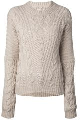 Laneus Wool Blend Sweater - Lyst