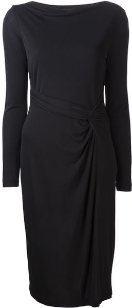 Lida Baday Wrap Waist Dress - Lyst