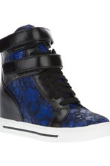 Marc By Marc Jacobs Lace Hi-top Sneakers - Lyst