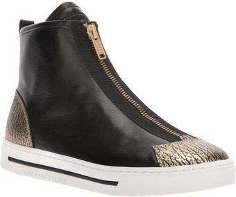 Marc By Marc Jacobs Zipped High-top Trainer - Lyst