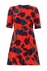 Marc By Marc Jacobs Mareika Tulip Print Dress - Lyst