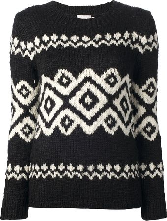 Moncler Printed Sweater - Lyst