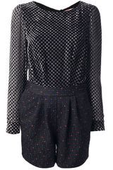 MSGM Patterned Playsuit - Lyst