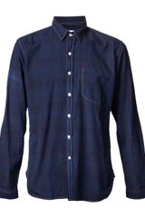 Oliver Spencer Slim Button Down Shirt - Lyst