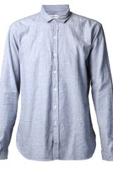 Oliver Spencer Speckled Shirt - Lyst
