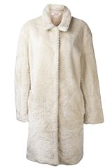 Organic By John Patrick Pointed Collar Trench Coat - Lyst