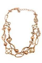 Oscar de la Renta Russian Necklace - Lyst