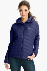 Patagonia Down Sweater Hooded Jacket - Lyst