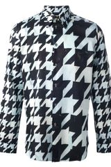 Paul Smith Houndstooth Shirt - Lyst