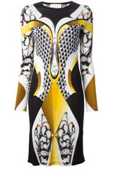 Peter Pilotto Lana Stencil Print Dress - Lyst