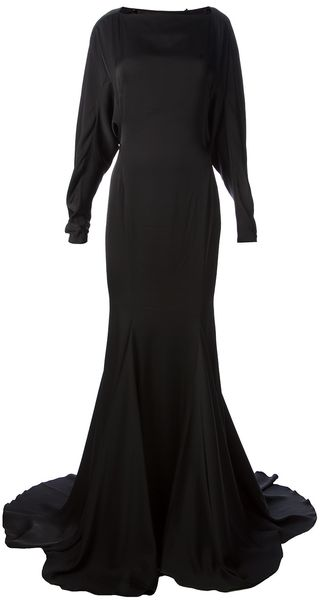 Plein Sud Long Length Evening Dress - Lyst
