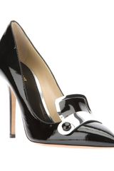 Pollini Pointed Pump - Lyst