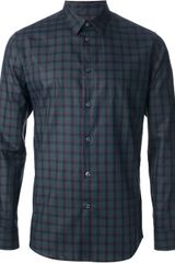 PS by Paul Smith Checked Shirt - Lyst