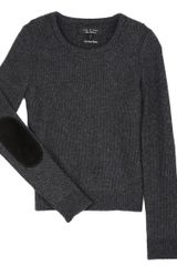 Rag & Bone Gemma Sweater Charcoal - Lyst