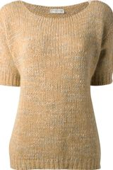 Roberto Collina Boxy Knitted Top - Lyst