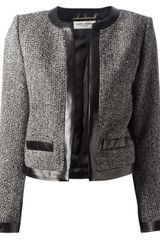 Saint Laurent Edge To Edge Jacket - Lyst