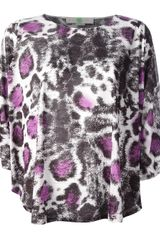 Stella McCartney Animal Print Top - Lyst