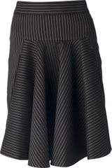 Stella McCartney Striped Skirt - Lyst