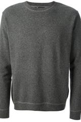 T By Alexander Wang Crew Neck Sweater - Lyst