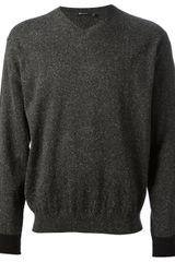 T By Alexander Wang Vneck Sweater - Lyst