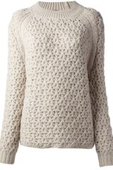 Theyskens' Theory Kisha Knitted Sweater - Lyst