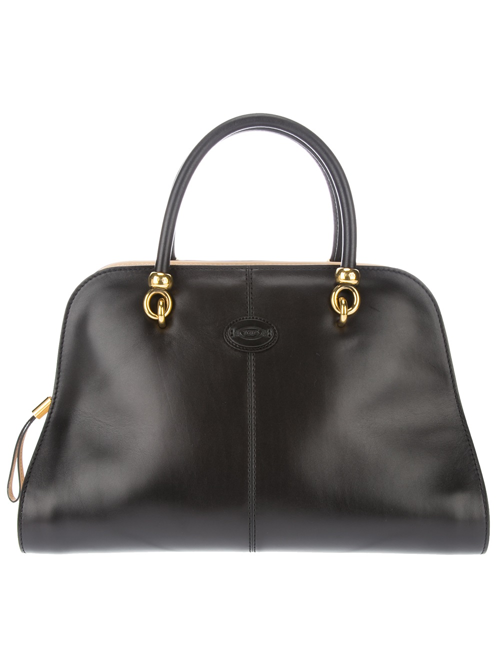 bbffd8a169 Tod's Sella Small Bowler Bag in Black - Lyst