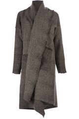 Uma Wang Oversized Wool Blend Coat - Lyst
