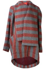 Vivienne Westwood Red Label Striped Bouclã Coat - Lyst
