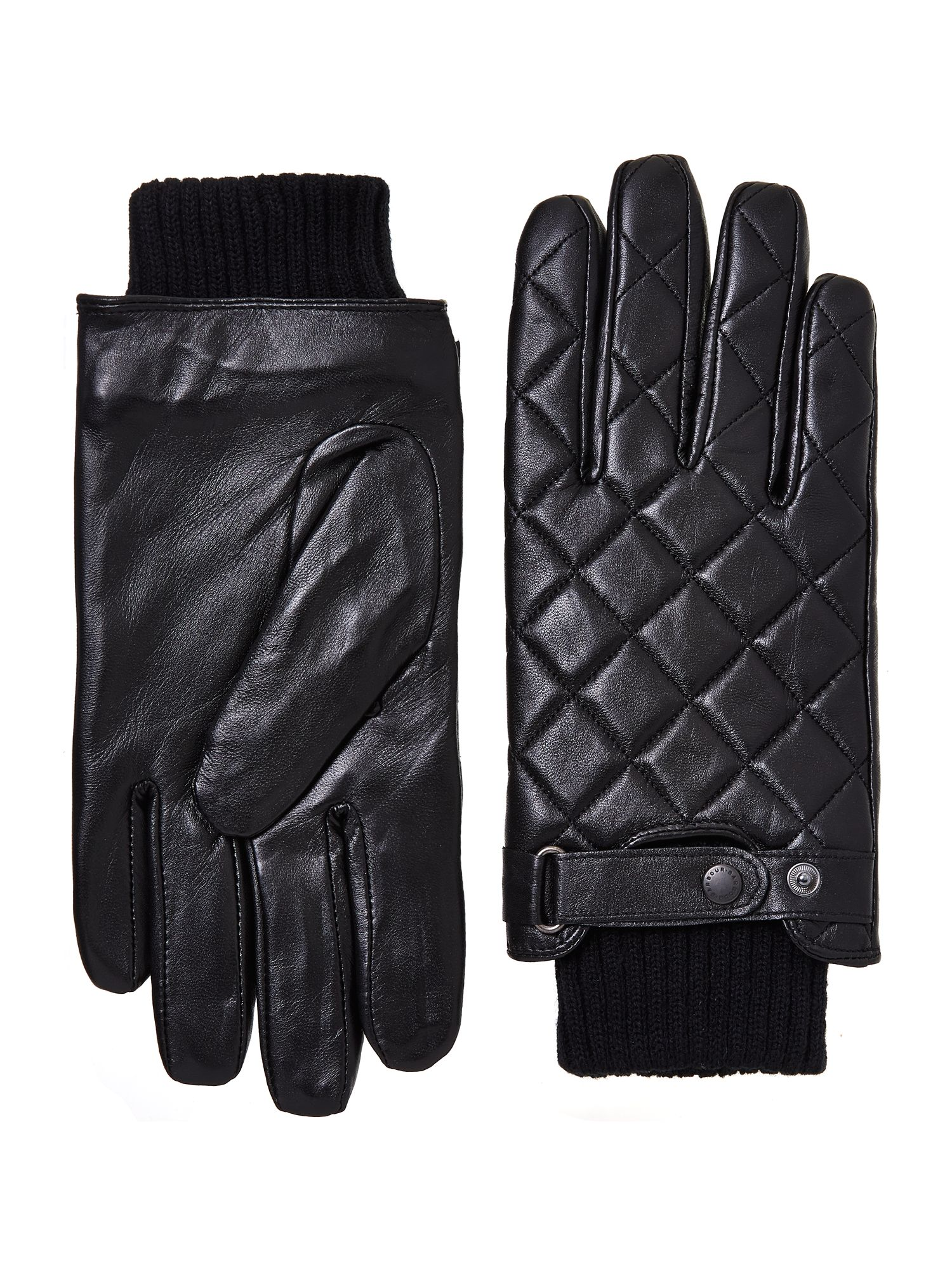 Quilted Leather Gloves : leather quilted gloves - Adamdwight.com