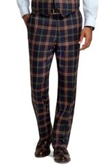 Brooks Brothers Madison Fit Signature Tartan Plainfront Dress Trousers - Lyst