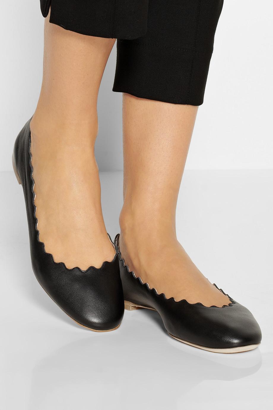 Chloé Patent Leather Flats cjE9Rk