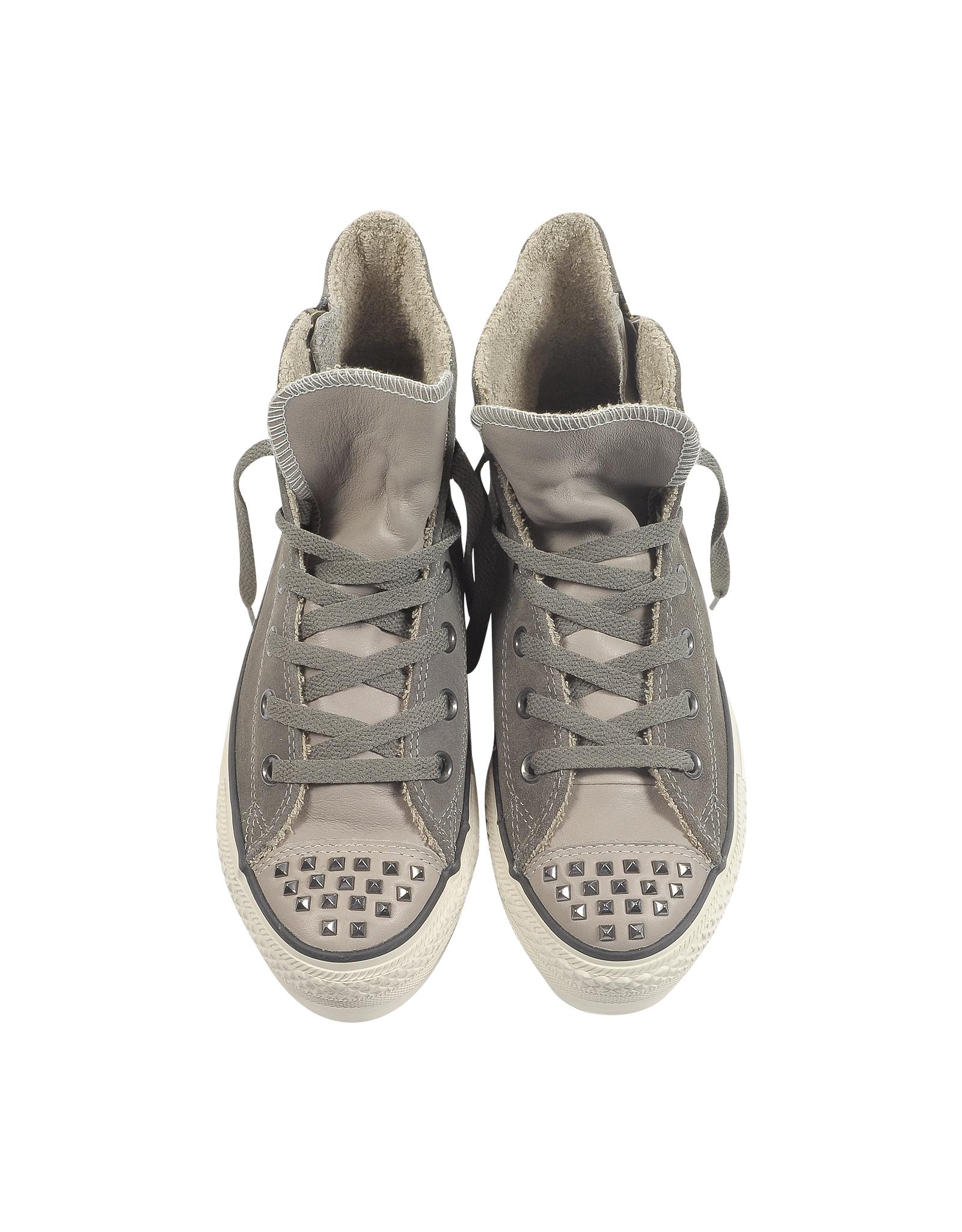 6197b1e274f4bd Gallery. Women s Converse Platform Women s Adidas Samba Women s Studded  Sneakers ...