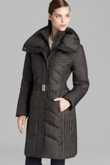 Marc New York Down Coat Belted with Hood - Lyst