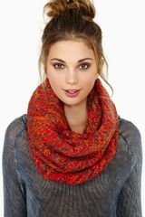Nasty Gal Warm and Toasty Infinity Scarf - Lyst