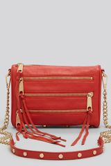 Rebecca Minkoff Clutch Five Zip Mini Crossbody - Lyst