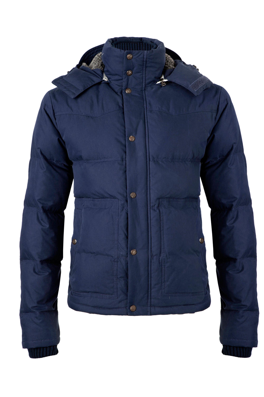 tommy hilfiger niagra hooded jacket in blue for men lyst. Black Bedroom Furniture Sets. Home Design Ideas