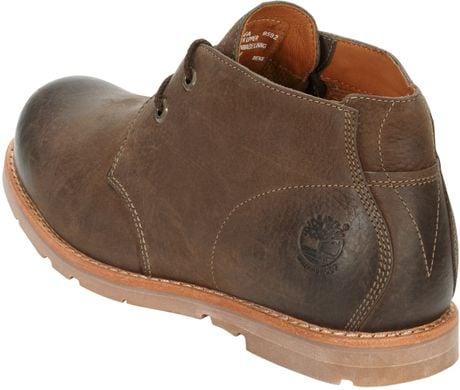 Timberland Men S Earthkeepers Rugged Plain Toe Chukka Boots