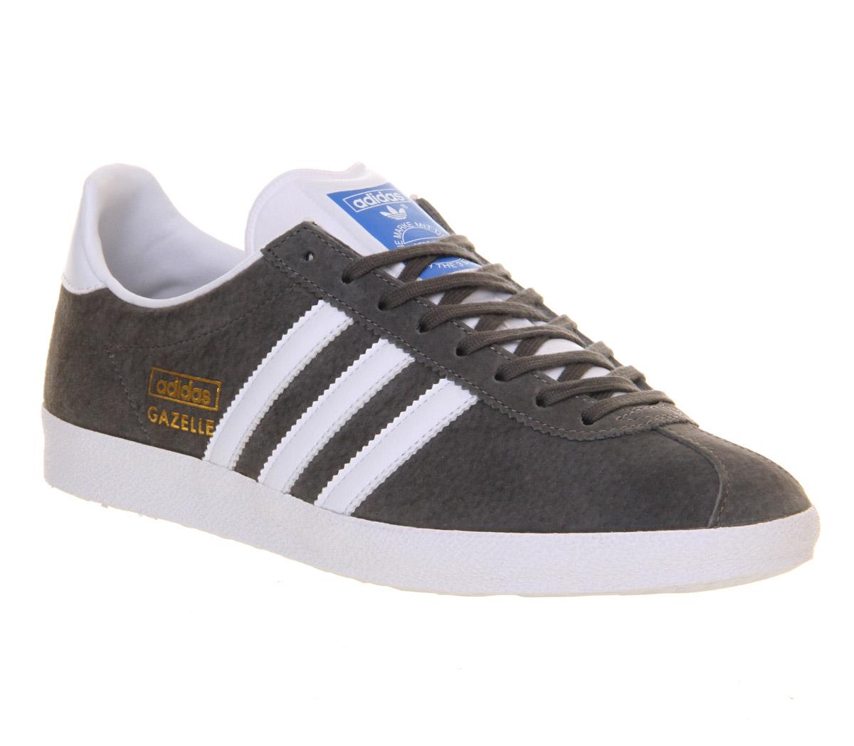 adidas originals gazelle og trainers in gray for men grey. Black Bedroom Furniture Sets. Home Design Ideas